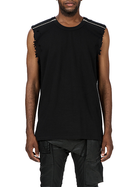 Crushed Distortion Sleeveless