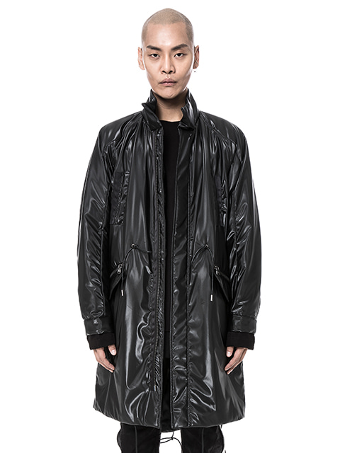 Black Long SAVAGE Anorak