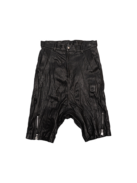 Shrink Leather Short