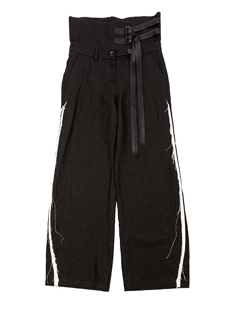 Double Layered Wide Pants