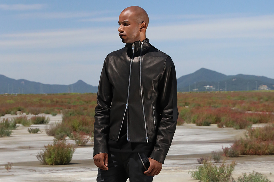 Back Splitter Leather Jacket