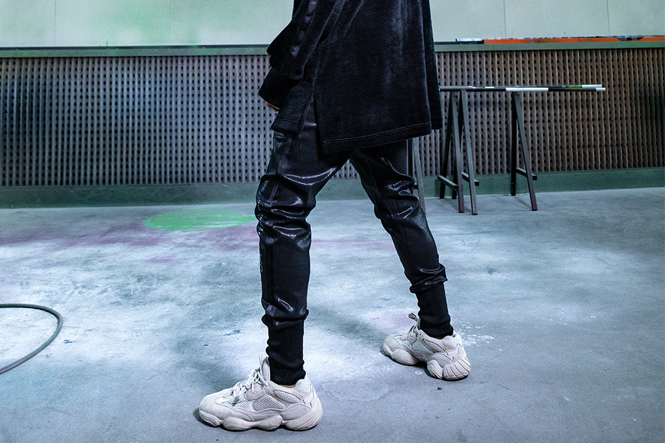 Coated SAVAGE Jogger Pants