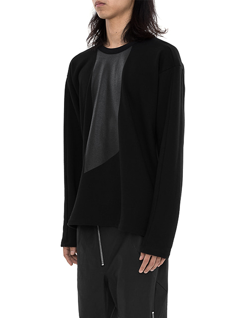Asymmetric Long T-shirt