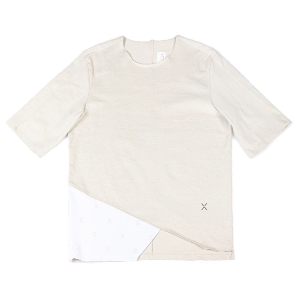 Oblique X Flag T-shirt _Neutral